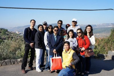 Group at Mount Tabor